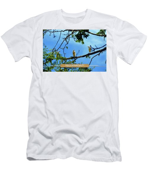 Ibis Perch - Virgin Nature Series Men's T-Shirt (Athletic Fit)