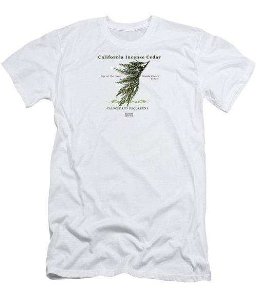 Incense Cedar - Brpwn Text Men's T-Shirt (Athletic Fit)