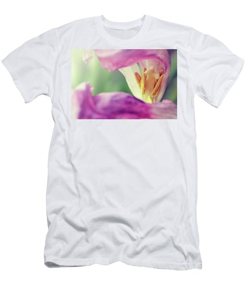 Men's T-Shirt (Athletic Fit) featuring the photograph Inward Beauty by Michelle Wermuth