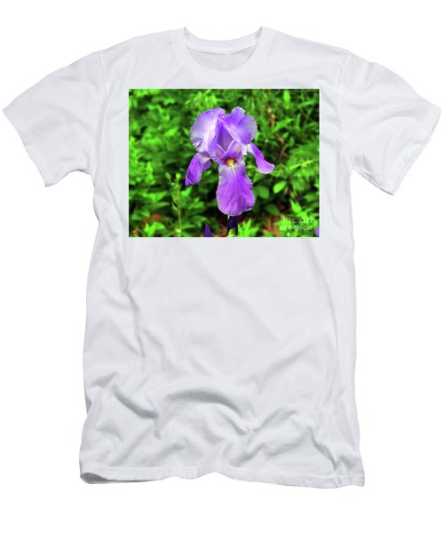Iris In Bloom Men's T-Shirt (Athletic Fit)