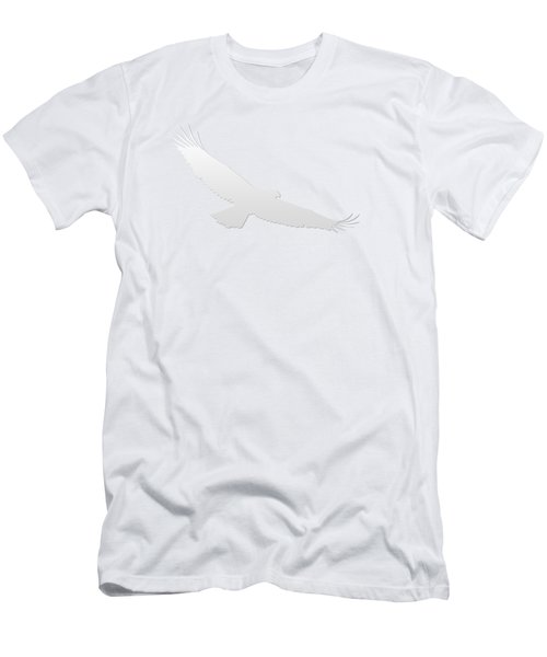 Isolated Bald Eagle 2018-3 Gradient Men's T-Shirt (Athletic Fit)
