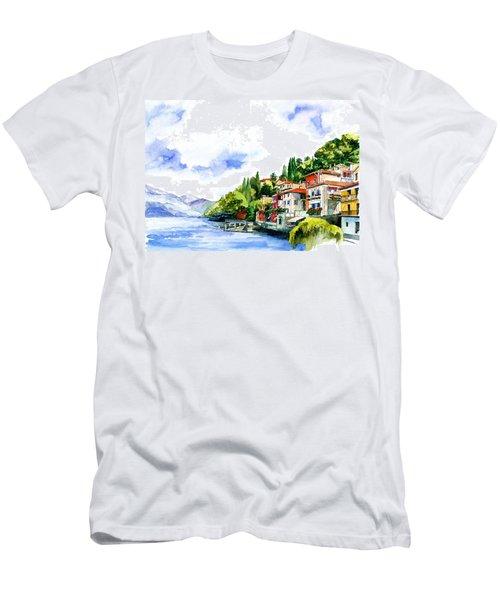 Italian Summer Vacation Men's T-Shirt (Athletic Fit)
