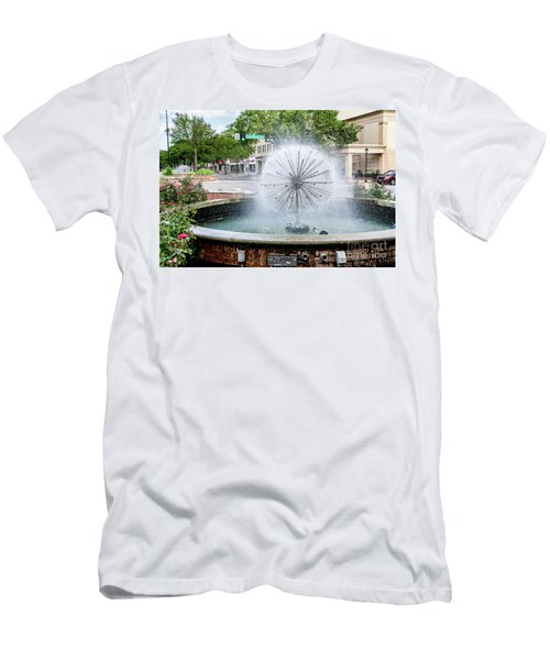 James Brown Blvd Fountain - Augusta Ga Men's T-Shirt (Athletic Fit)