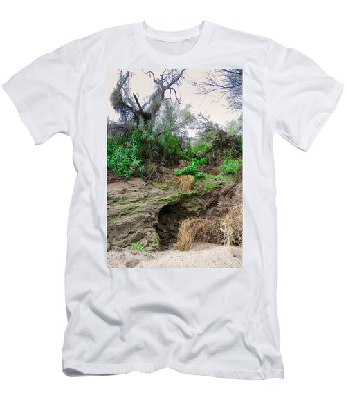 January Day  In The Vekol Wash Men's T-Shirt (Athletic Fit)