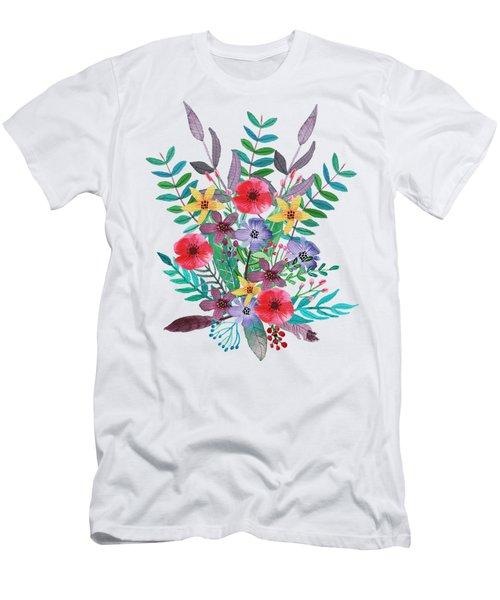 Just Flora I Men's T-Shirt (Athletic Fit)