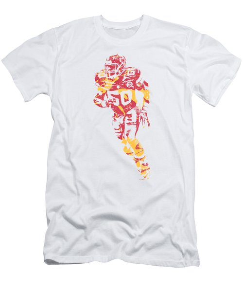 Justin Houston Kansas City Chiefs Apparel T Shirt Pixel Art 2 Men's T-Shirt (Athletic Fit)