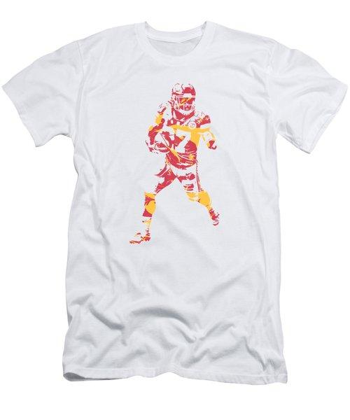 Kareem Hunt Kansas City Chiefs Apparel T Shirt Pixel Art 3 Men's T-Shirt (Athletic Fit)