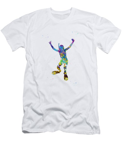 Kid Scuba Diver Men's T-Shirt (Athletic Fit)