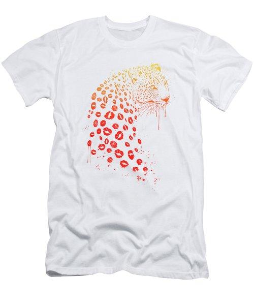 Kiss Me Men's T-Shirt (Athletic Fit)