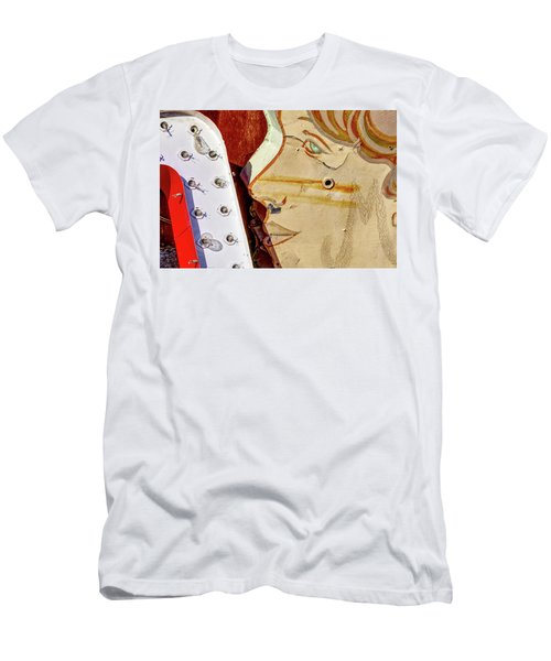 Men's T-Shirt (Athletic Fit) featuring the photograph Kiss by Skip Hunt
