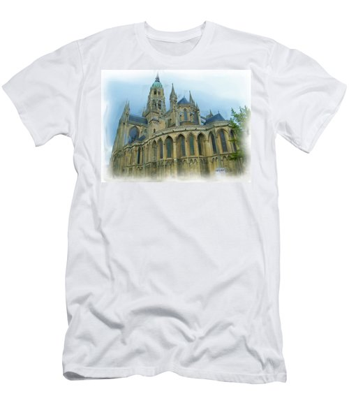 La Cathedrale De Bayeux Men's T-Shirt (Athletic Fit)