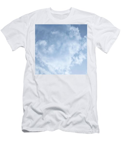 Men's T-Shirt (Athletic Fit) featuring the photograph Lace Agate Sky by Judy Kennedy