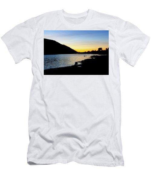 Lake Cuyamaca Sunset Men's T-Shirt (Athletic Fit)