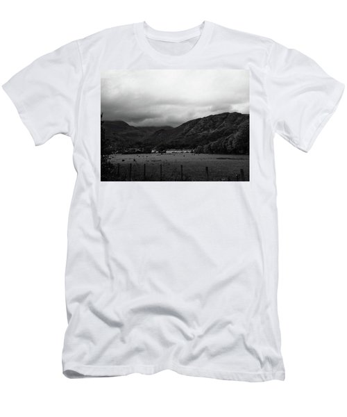 Men's T-Shirt (Athletic Fit) featuring the photograph Lakesview by JLowPhotos
