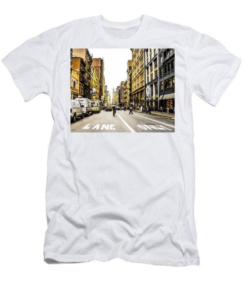 Lane Only  Men's T-Shirt (Athletic Fit)