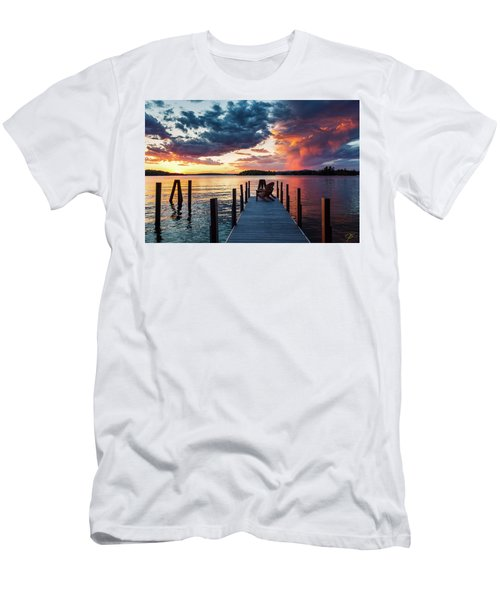 Late Summer Storm. Men's T-Shirt (Athletic Fit)