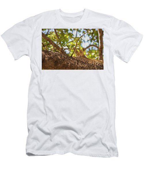 Men's T-Shirt (Athletic Fit) featuring the photograph LC9 by Joshua Able's Wildlife
