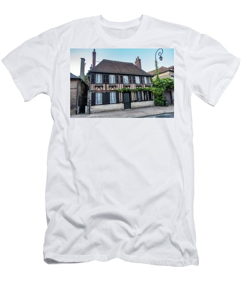 Men's T-Shirt (Athletic Fit) featuring the photograph Le Vieux Logis D'acquigny by Randy Scherkenbach
