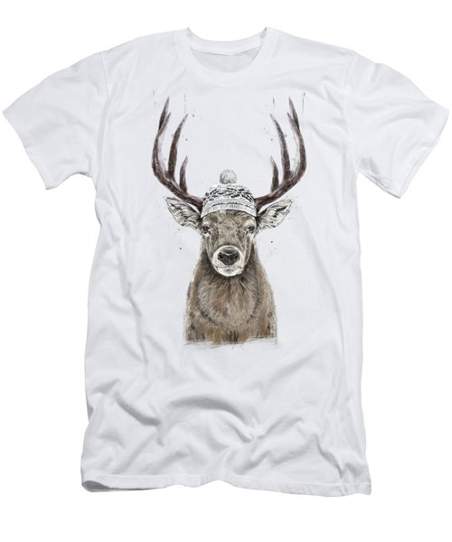 Let's Go Outside  Men's T-Shirt (Athletic Fit)