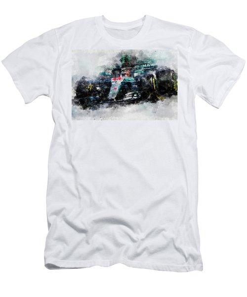 Lewis Hamilton, Mercedes Amg F1 W09 - 10 Men's T-Shirt (Athletic Fit)