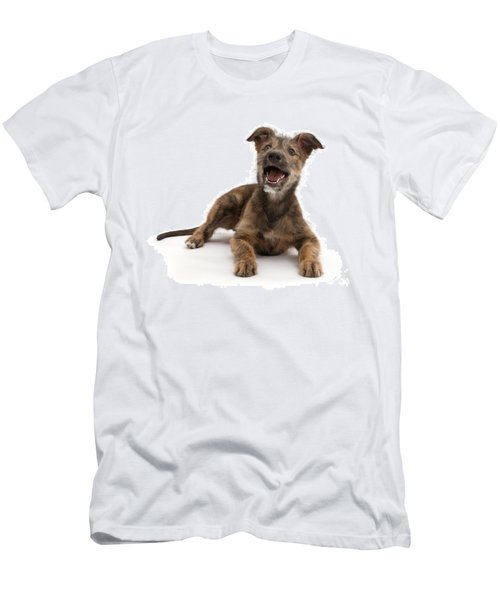 Men's T-Shirt (Athletic Fit) featuring the photograph Life's A Bark by Warren Photographic
