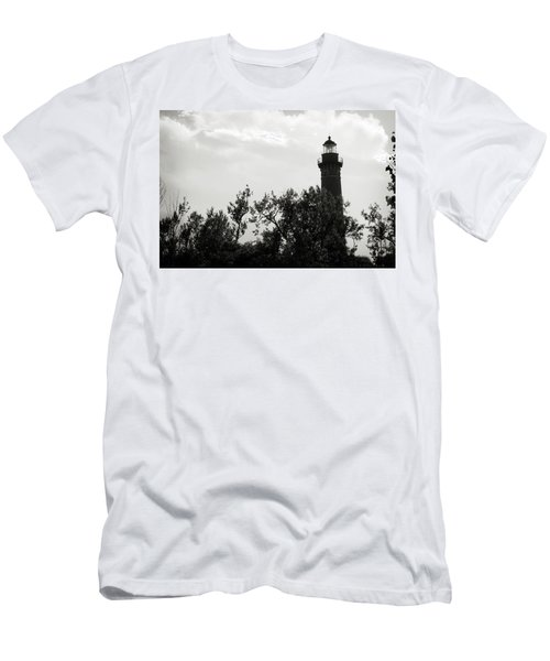 Men's T-Shirt (Athletic Fit) featuring the photograph Lighthouse by Michelle Wermuth