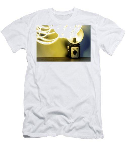 Lights, Camera, Action Men's T-Shirt (Athletic Fit)