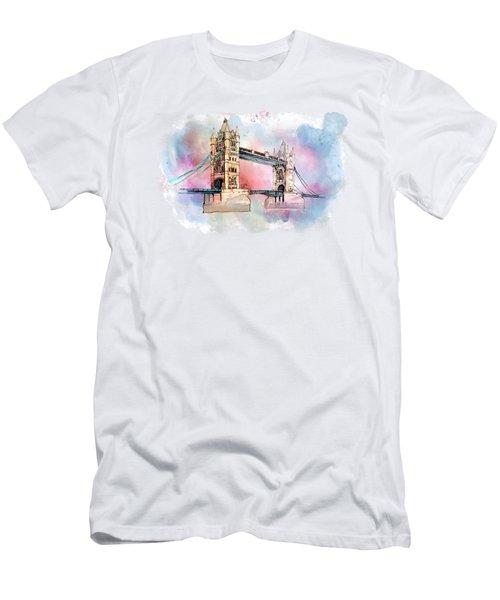 London Bridge Men's T-Shirt (Athletic Fit)