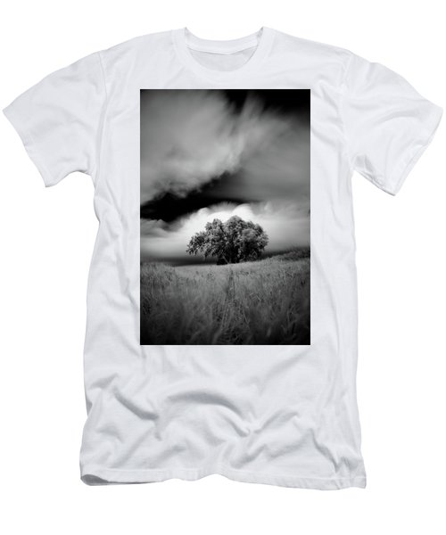 Lone Tree On A Hill Men's T-Shirt (Athletic Fit)