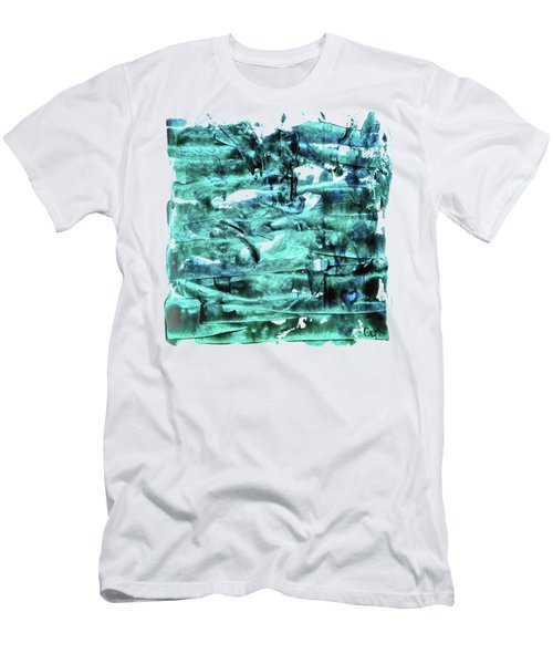 Look For The Blue Heart Men's T-Shirt (Athletic Fit)