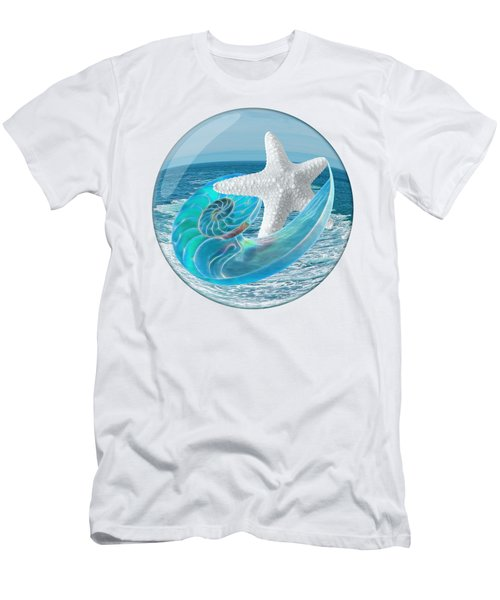 Lost In A Daydream - Floating On The Ocean Men's T-Shirt (Athletic Fit)