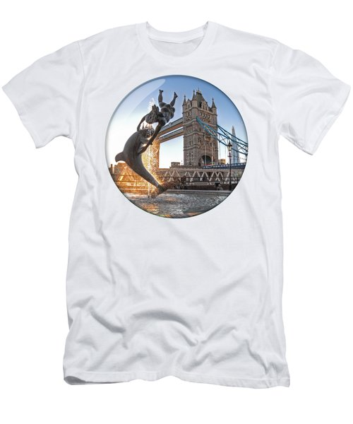 Lost In A Daydream - Floating On The Thames Men's T-Shirt (Athletic Fit)
