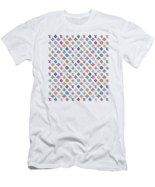 Louis Vuitton Monogram-3 Men's T-Shirt (Athletic Fit)