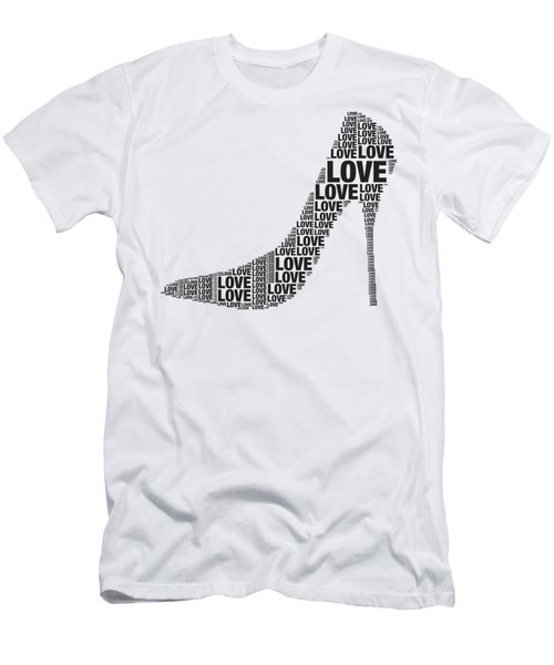 Love In High Heels Men's T-Shirt (Athletic Fit)