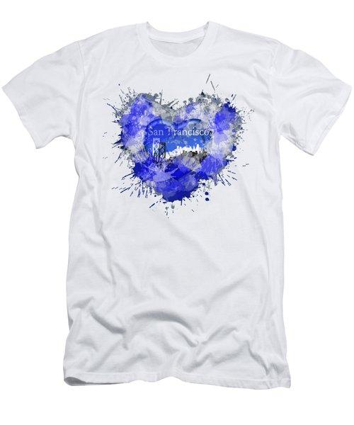 Love San Francisco Men's T-Shirt (Athletic Fit)