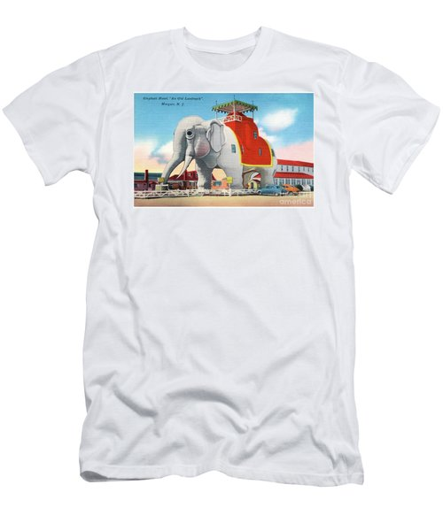 Lucy The Elephant Men's T-Shirt (Athletic Fit)