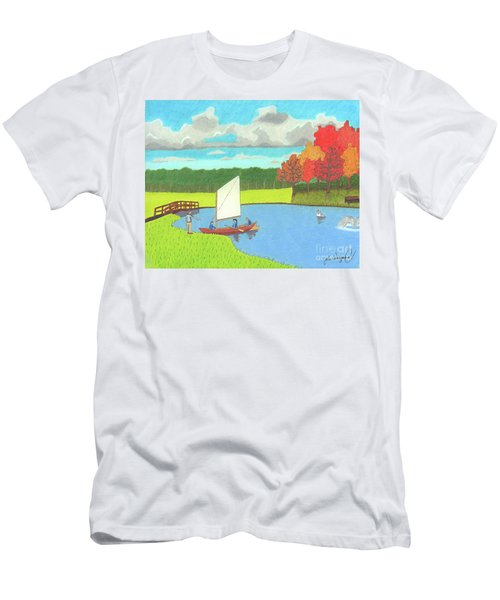 Testing The Waters Men's T-Shirt (Athletic Fit)