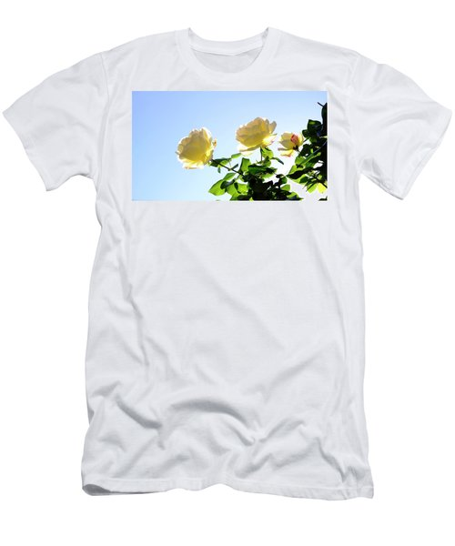 Men's T-Shirt (Athletic Fit) featuring the photograph Luminous February by August Timmermans