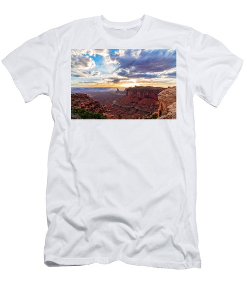 Men's T-Shirt (Athletic Fit) featuring the photograph Luminous by Russell Pugh