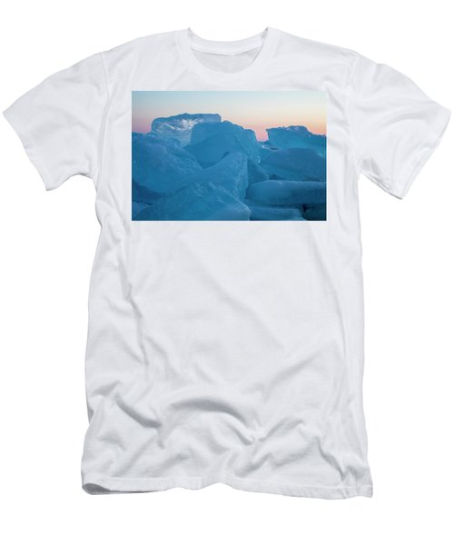 Mackinaw City Ice Formations 2161804 Men's T-Shirt (Athletic Fit)
