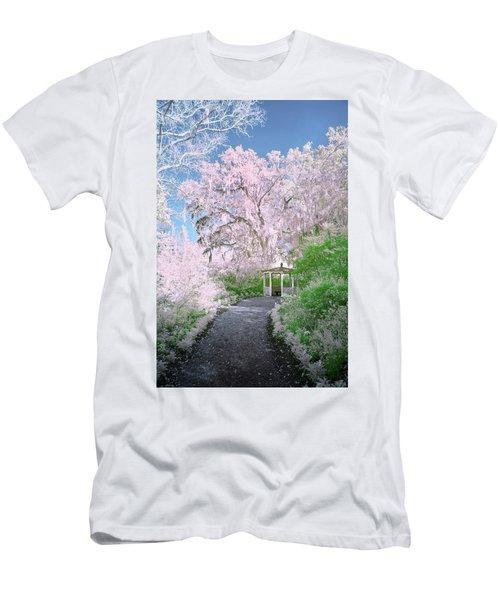 Magnolia Gazebo  Men's T-Shirt (Athletic Fit)