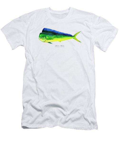 Mahi Mahi Men's T-Shirt (Athletic Fit)