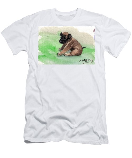 Malinois Pup 3 Men's T-Shirt (Athletic Fit)