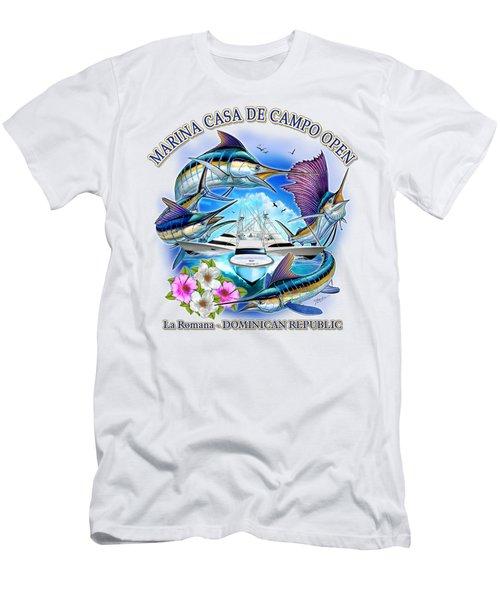 Marina Casa De Campo Open Art Men's T-Shirt (Athletic Fit)