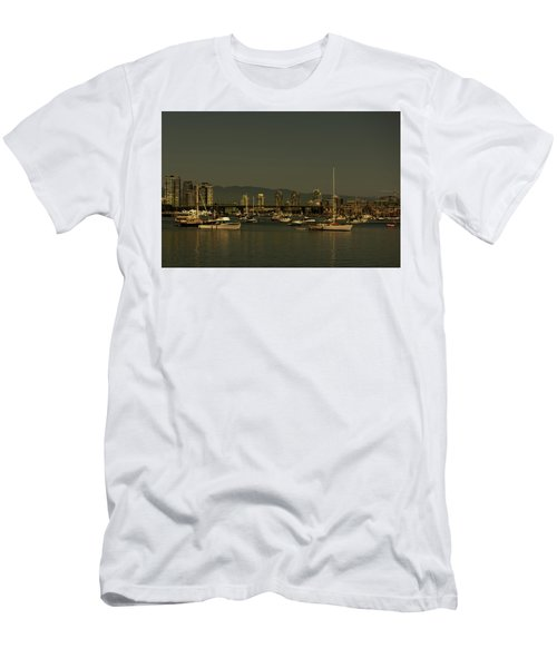 Marina Golden Hours Men's T-Shirt (Athletic Fit)