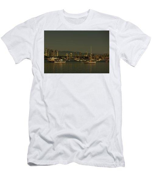 Marina Golden Hours Men's T-Shirt (Athletic Fit)