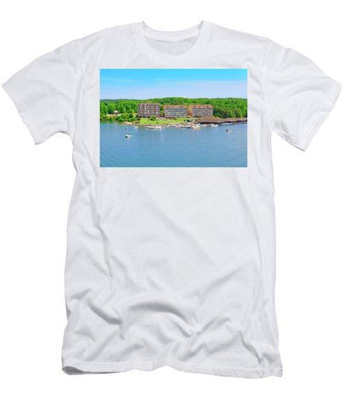 Mariners Landing Poker Run Men's T-Shirt (Athletic Fit)
