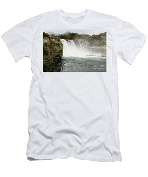 Maruia Falls Men's T-Shirt (Athletic Fit)