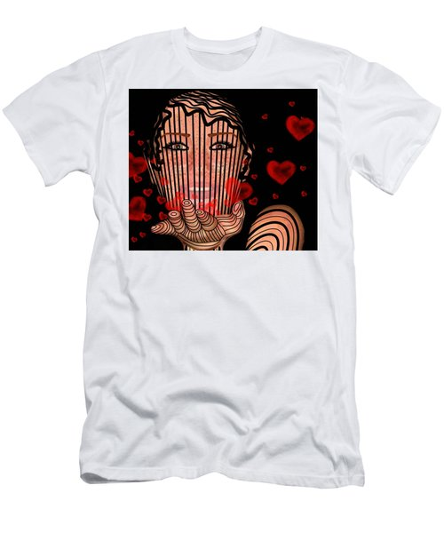 Mask Of Valentine Men's T-Shirt (Athletic Fit)