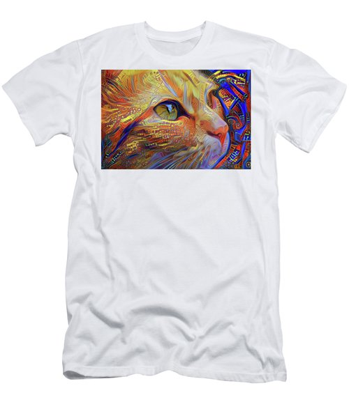 Max The Ginger Cat Men's T-Shirt (Athletic Fit)